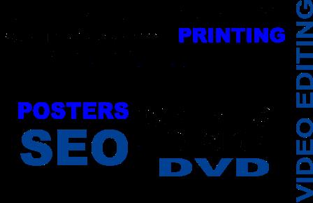 blue jim combs media web design words med a