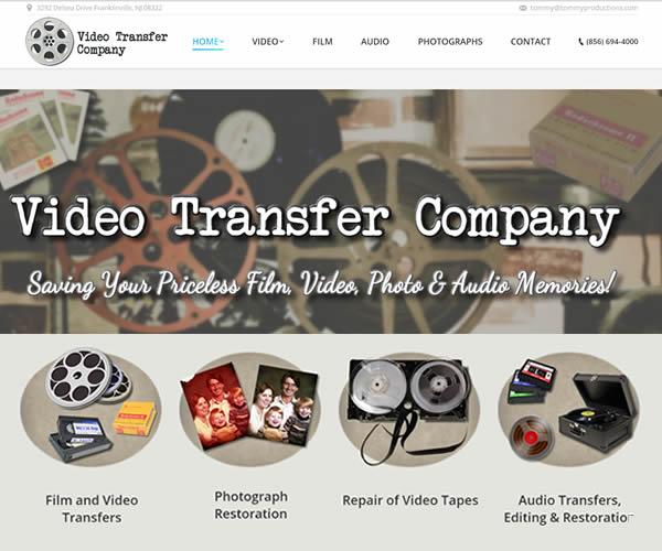 Jim Combs Media video transfer company