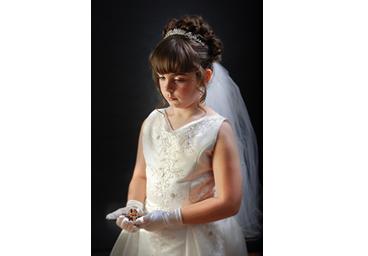communion photo portrait
