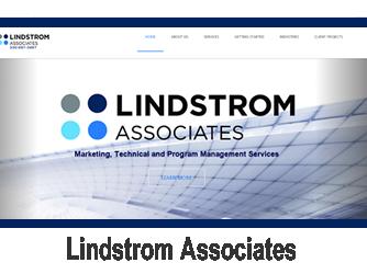 lindsrtom associates website by jim combs media