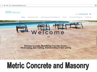 metric concrete and masonry