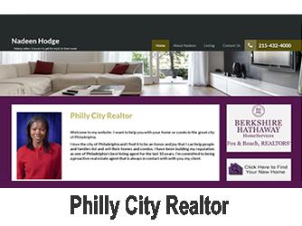 nadeen philly city realtor website