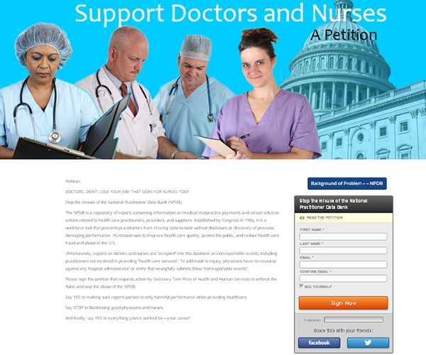 support drs and nurses